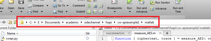 V3:MATLAB Control of CW-Lite - ChipWhisperer Wiki